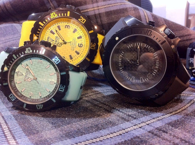 Kyboe watch, bigger is better new Black series watches in stock
